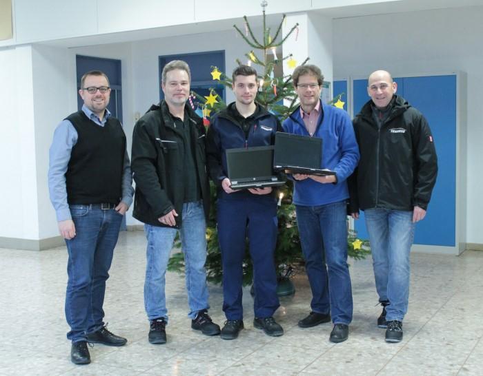 Nikolausgeschenk Der Firma Tenneco Paul Gillet Realschule Plus